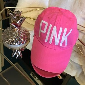 VS PINK Baseball Cap with Adjustable Strap