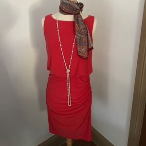 Beautiful Maggy London ruched dress