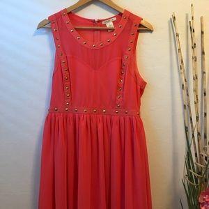 Arden b red dress petite