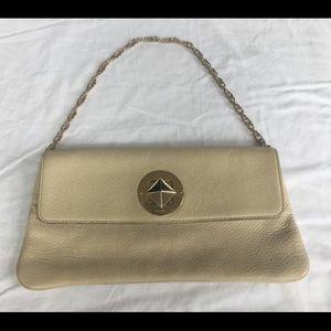 Kate Spade Beige Clutch Handbag