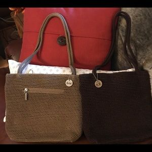 The SAK purses. 2 for price of 1