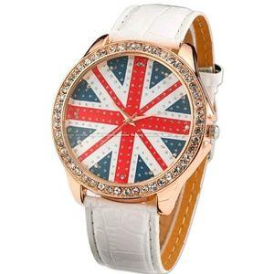 Accessories - Women watch new British flag Lady Girl quartz