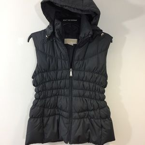 Michael Kors Feather Down Hooded Vest