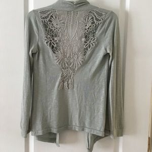 Urban Outfitters Kimchi Blue Lace Back Sweater