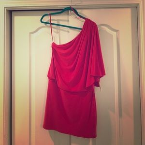 Jessica Simpson off shoulder dress