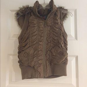 Hooded Vest!