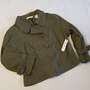 COTTON LYNNFIELD MOTORCYCLE JACKET BY & ME...