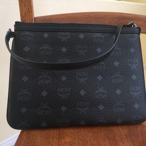 New MCM shoulder bag black