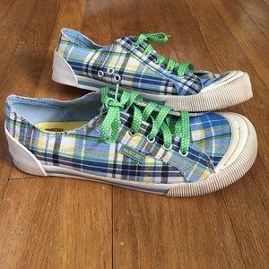 Rocket dog plaid sneakers