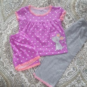 Carter's Toddler Girl's  PJ Set