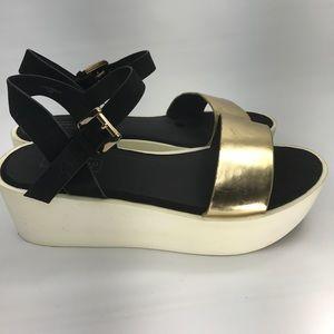 Topshop Flat Platform Sandal