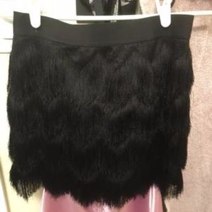 NEW BCBG tassle  SWING SKIRT XSM/SM