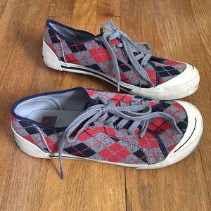Rocket dog argyle sneakers