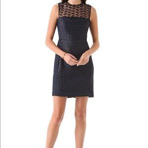 Diane Von Frustenberg Kinchu Lace Overlay Dress
