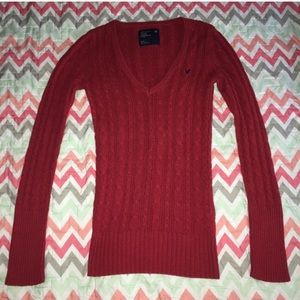 American Eagle Outfitters Knit VNeck Sweater - M