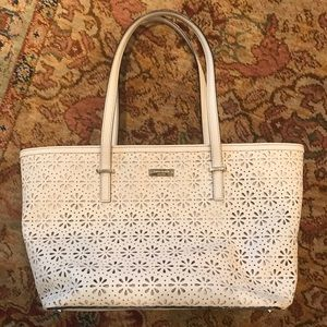 Kate Spade Cream/Ivory Handbag