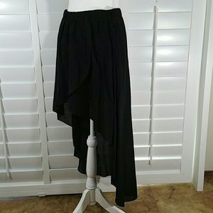 Zara Skirts - ZARA WOMAN High Lo Skirt
