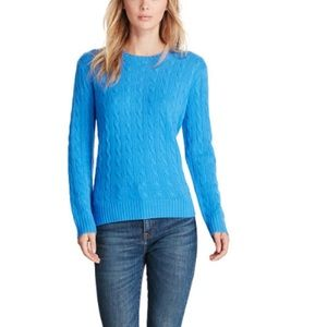 Brand New Ralph Lauren Cable Knit Sweater