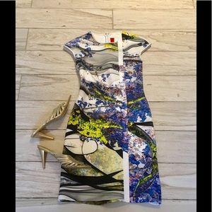 Neiman Marcus💐🎉Clover Canyon Bodycon Dress! NWOT