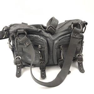 Olivia + Joy Faux Pebbled Leather Shoulder Bag