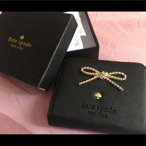 💝Kate Spade Black wallet