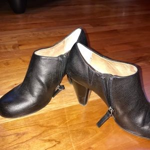 Shoes - Black dressy ankle boots