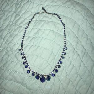 Accessories - Blue jewel necklace! Offers welcome!