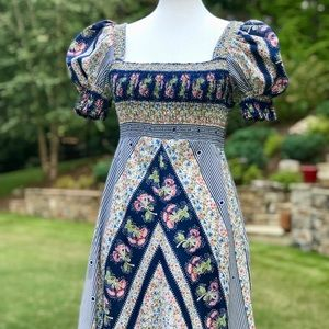 Jody of California Vintage Prairie Dress