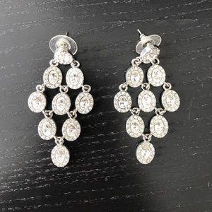 BCBG chandelier earrings