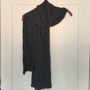 J.Crew Knit Striped Scarf