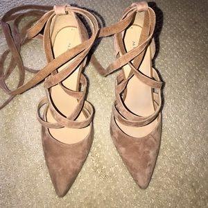 Aldo tie-up heels 👠