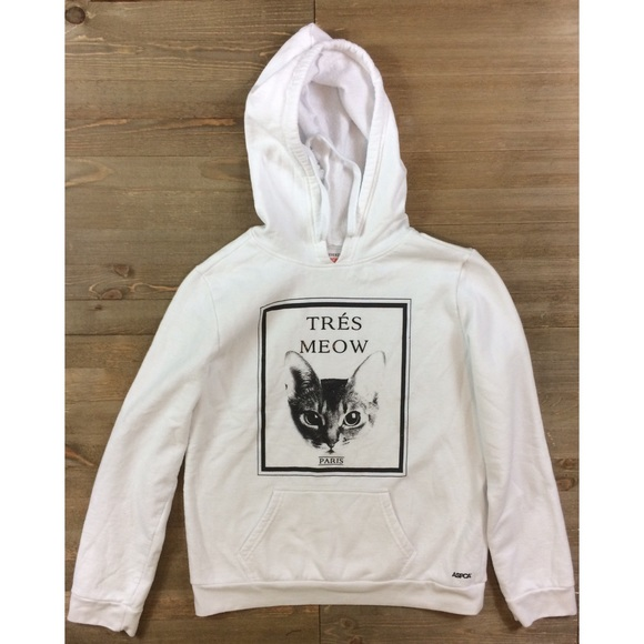 1d991ca175 Forever 21 Tops - 🐿 Forever 21 SPCA Tres Meow Cat Hoodie
