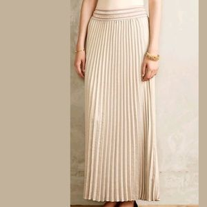 NEW Anthropologie Mica Maxi Skirt, HD in Paris