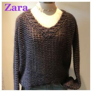 ZARA Mohair Sweater
