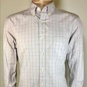 J. CREW Haberdashery Men's Shirt SZ L 16 161/2