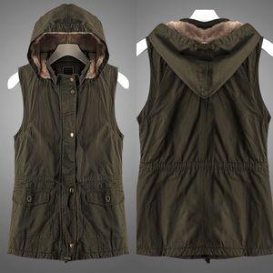 LAST ONE!! Olive Anorak Vest