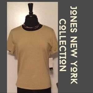 👜👡Great NWT‼️ Golden Business Casual Top by JNY!