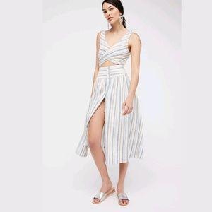 NEW Free People Kansas City Girl Midi Dress