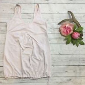 Pink and white Lucy work out Tank
