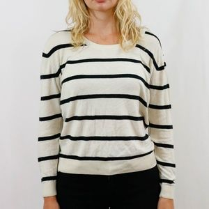 Urban Outfitters Crew Neck Striped Sweater Size L