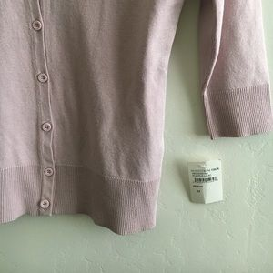 14th & Union Sweaters - 14th & Union Elbow Sleeve Cardigan Cover Lavender