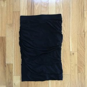 club monaco bodycon scrunch skirt