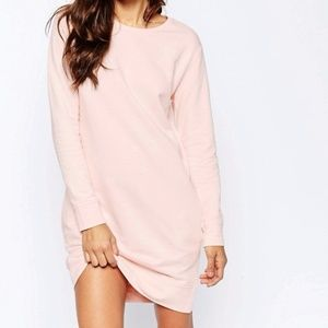 ASOS Sweat Dress With Pockets