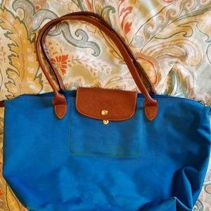 Large Blue Longchamp