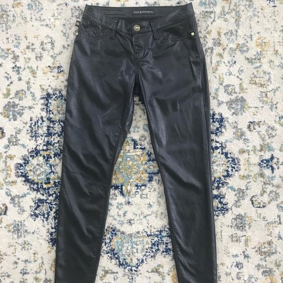 5dbb48415a4db Like New Rock & Republic Faux Leather Pants. M_59c56a24b4188e5f7103a2b9