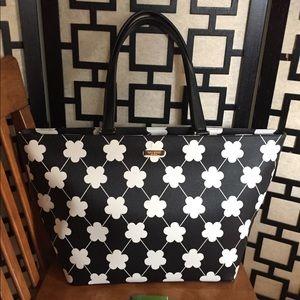 NWT Kate Spade Jules Grant Street Grainy Vinyl bag