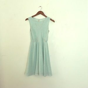 Baby Blue Lace Target Dress