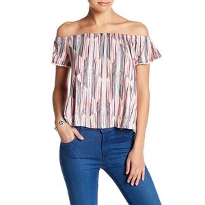 Lush Off The Shoulder Top