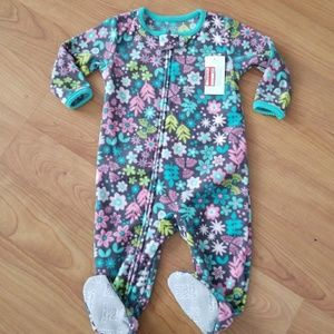 fleece zip up carters pajama