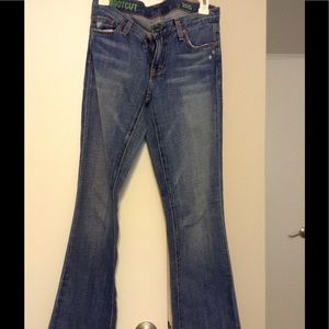 J Crew jeans bootcut 26 s soft distressed